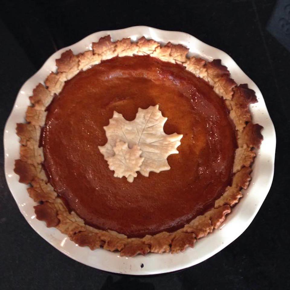 Vanilla Pumpkin Pie