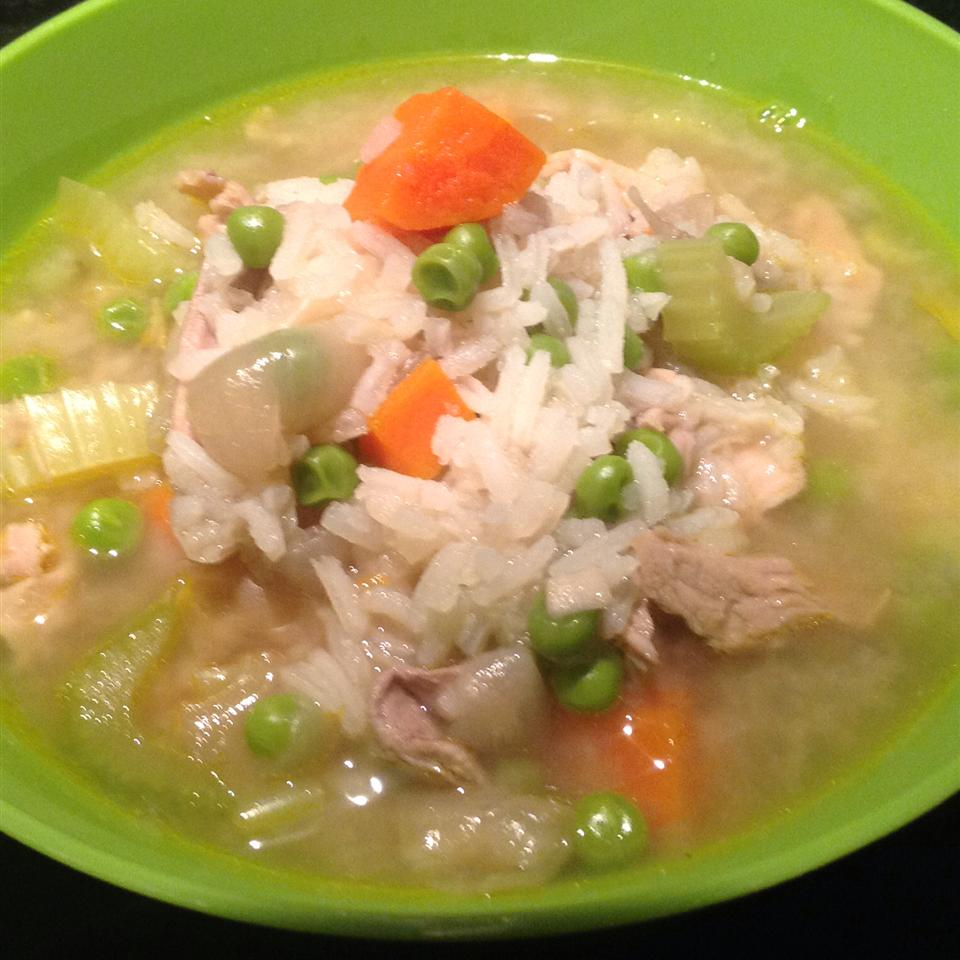 Classic Turkey and Rice Soup