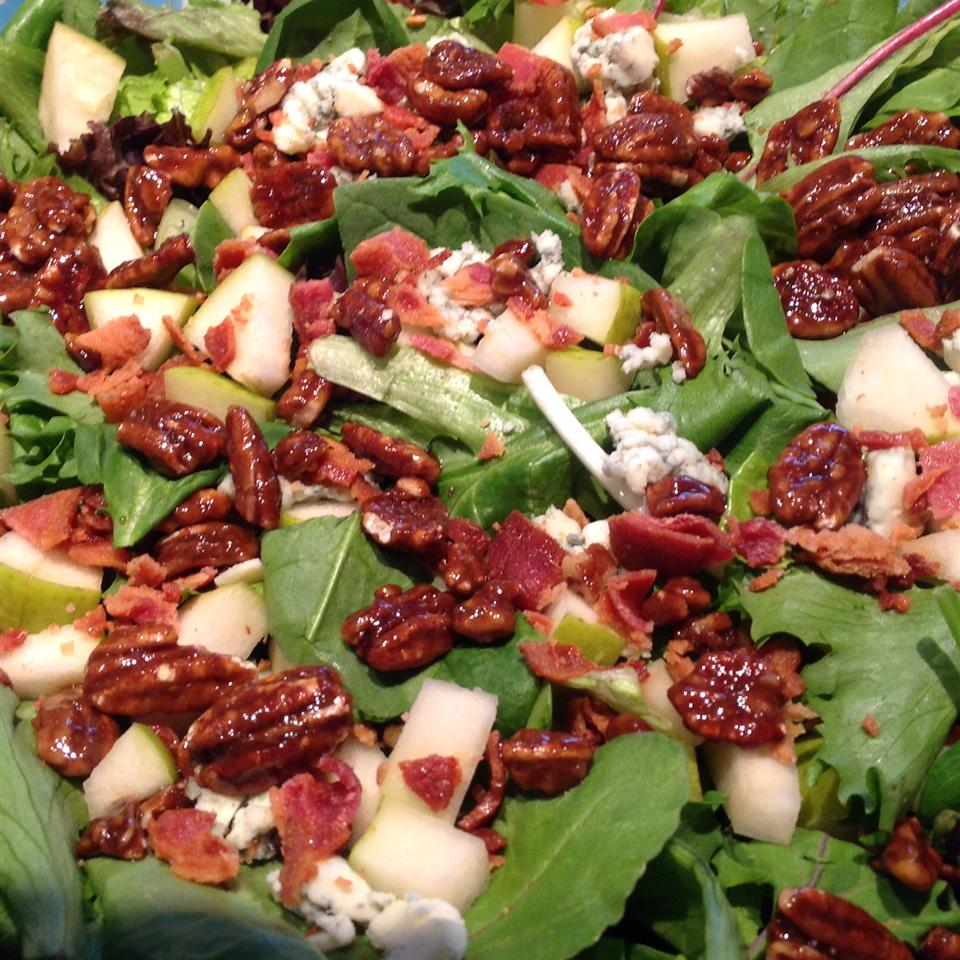 Apple Blue Cheese Salad