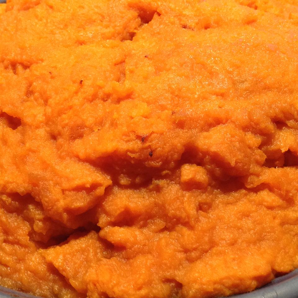 Sweet Potato Casserole with Eggnog