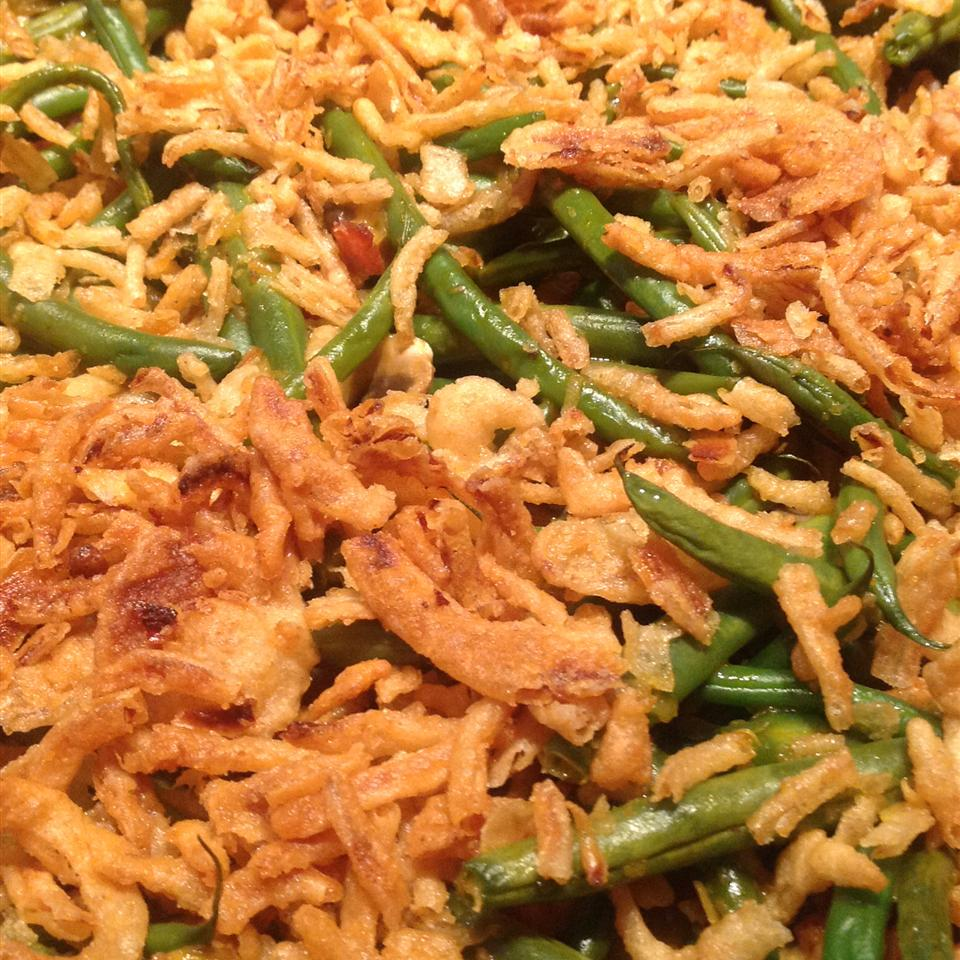 Green Bean and Canadian Bacon Casserole Cathy H.