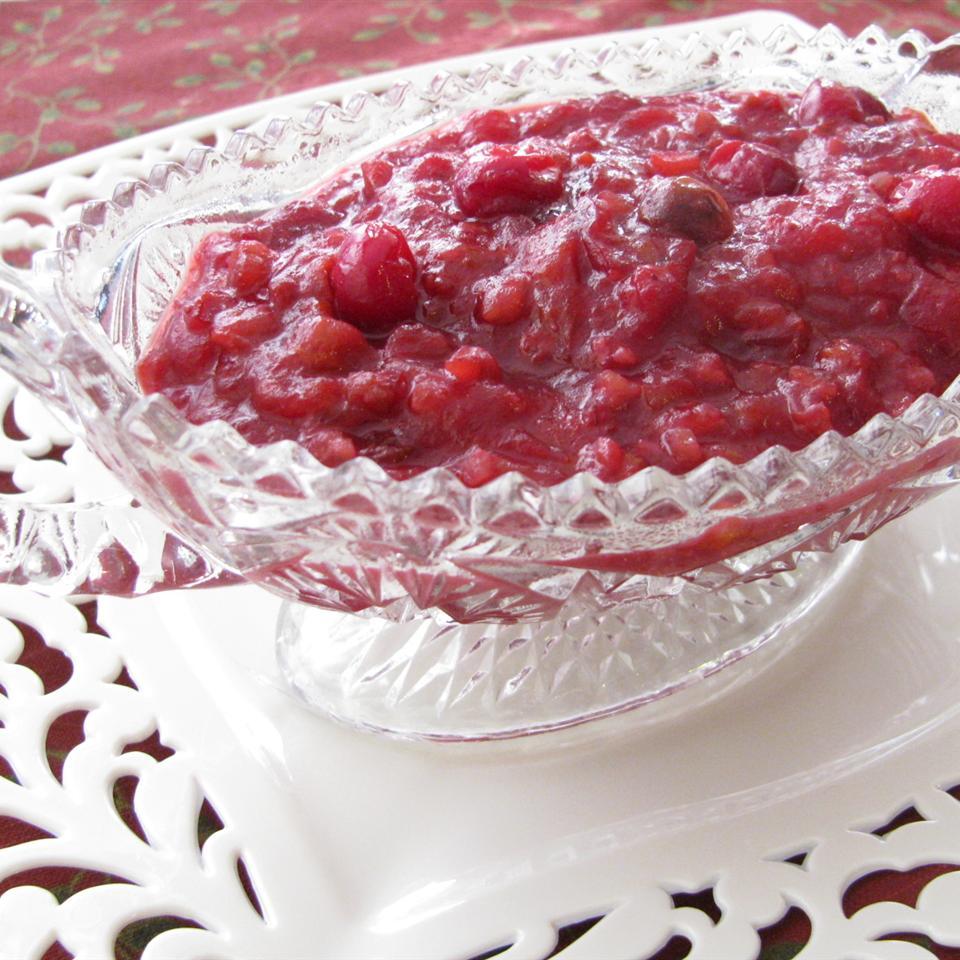 Cranberry Sauce Extraordinaire