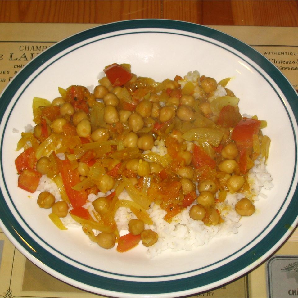 Cholay (Curried Chickpeas) Mark P