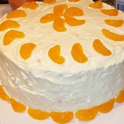 Orange Sunshine Cake Pam Ziegler Lutz