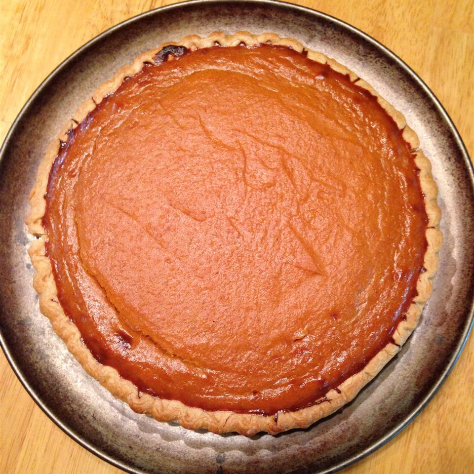 Chef John's Pumpkin Pie Michelle Yacullo-Glynn