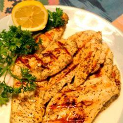 Gina's Lemon Pepper Chicken Bev N.
