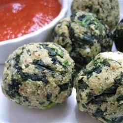 Spinach Balls JEN VINYARD