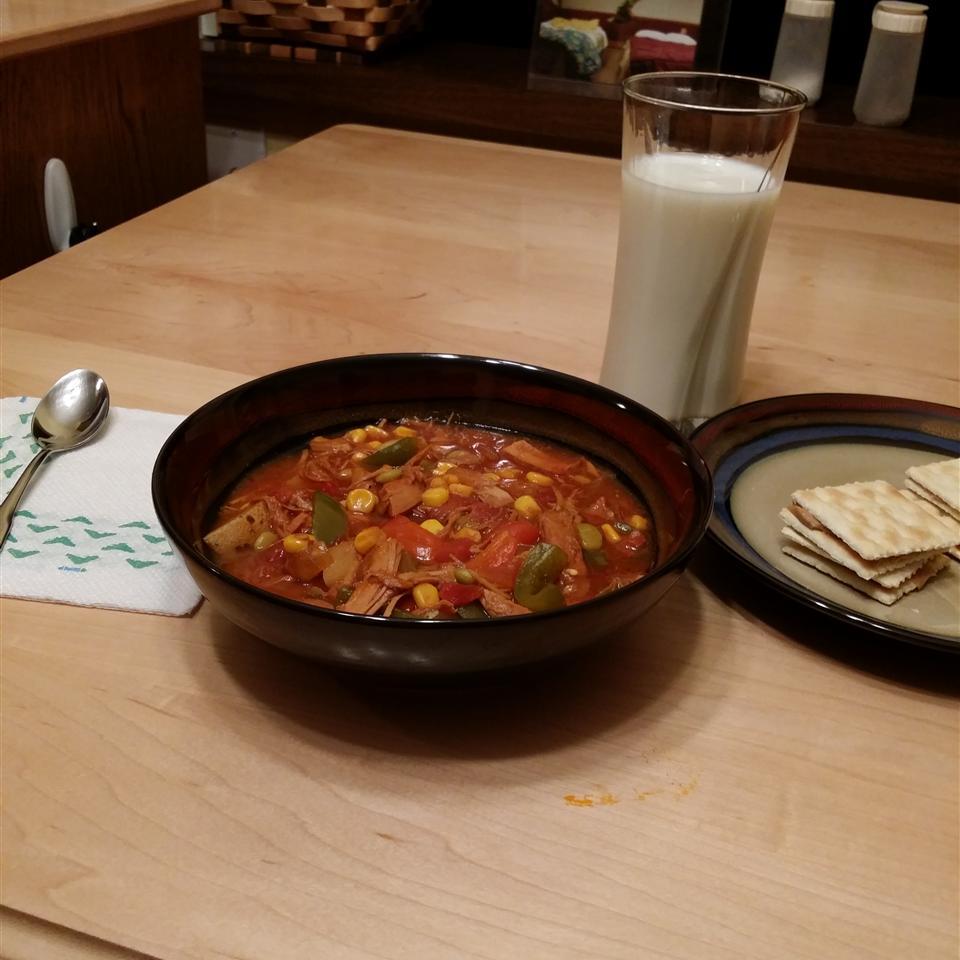 Leftover Turkey Brunswick Stew