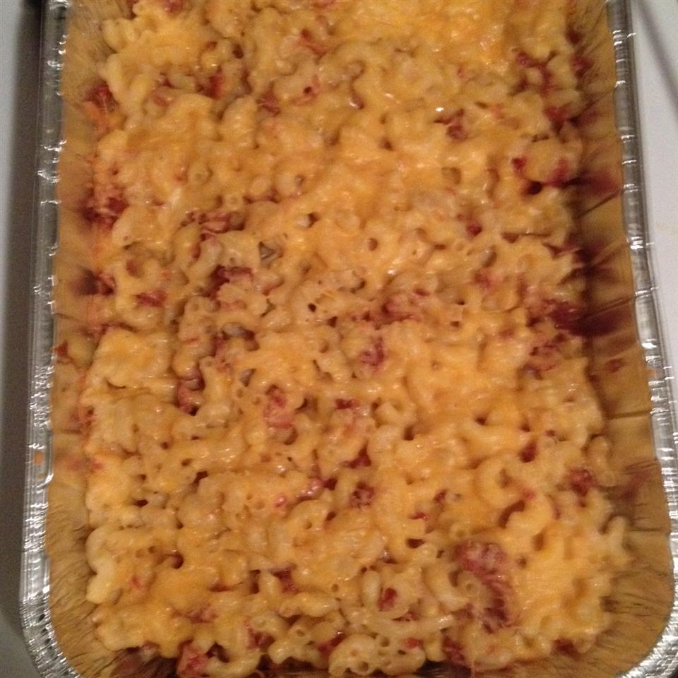 Cheddar-Bacon Mac and Cheese