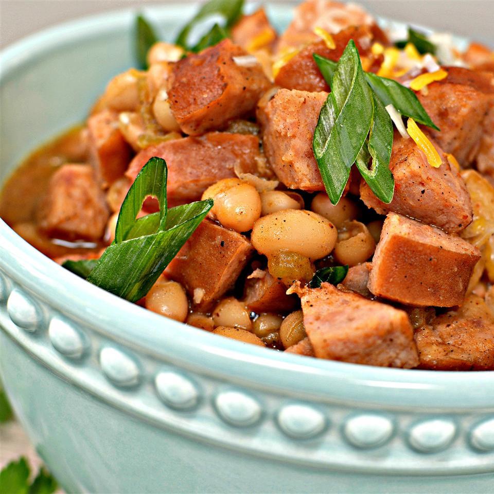 Smoked Sausage White Bean Chili bd.weld