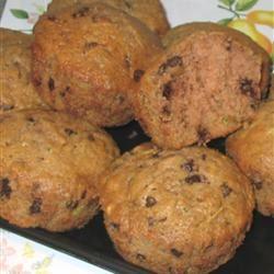 Zucchini-Chocolate Chip Muffins YankeesFan