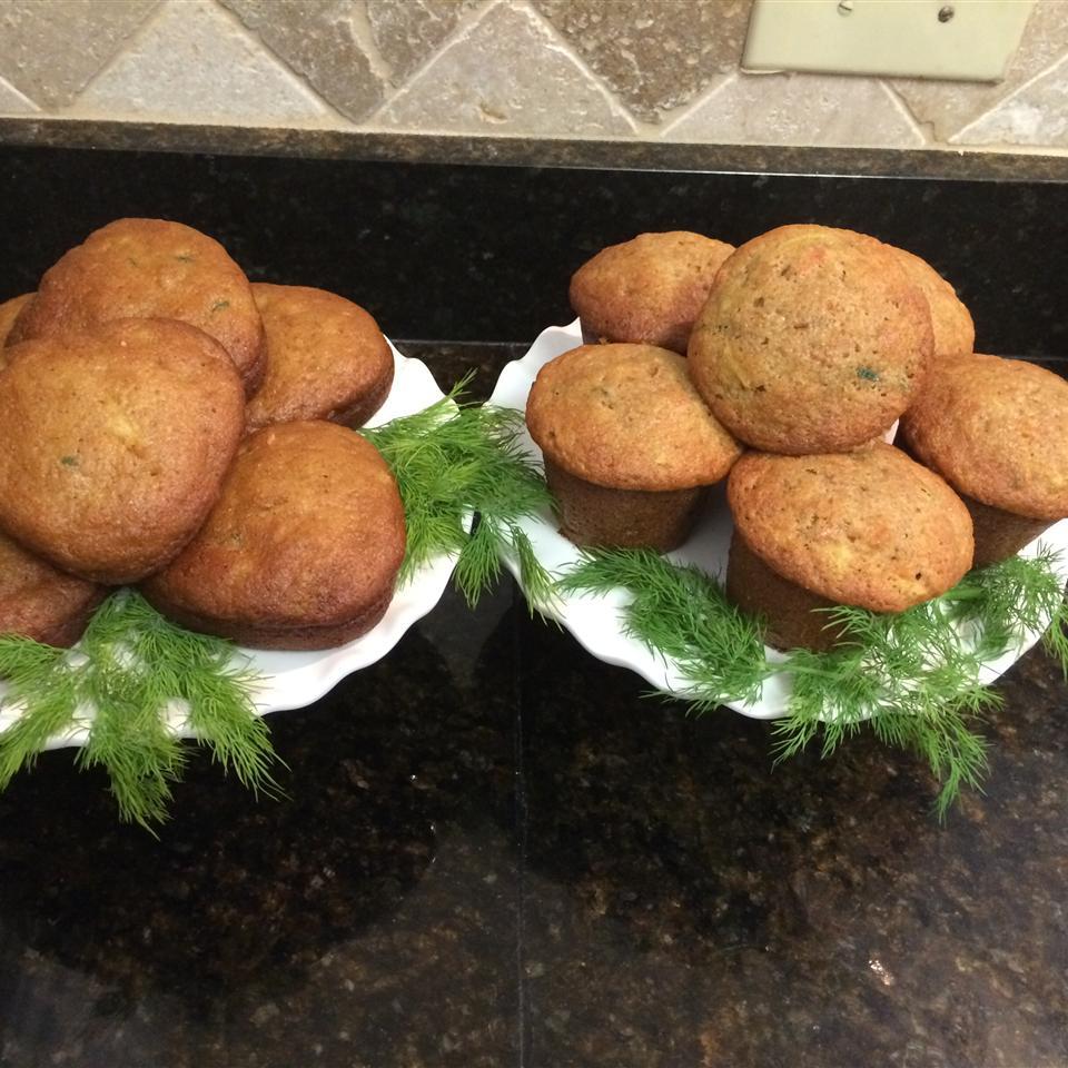 Pineapple Zucchini Muffins La Sunshine