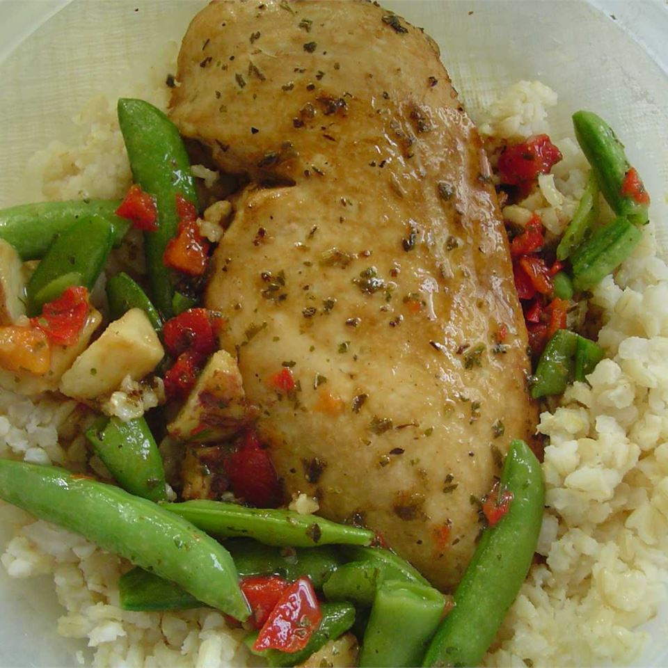 Oregano Chicken CSSTITCHES
