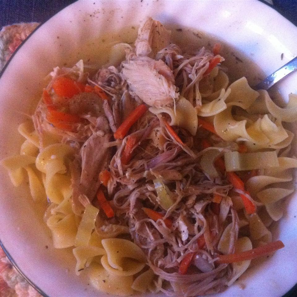 Old Man's Turkey Noodle Soup Jamie Henson
