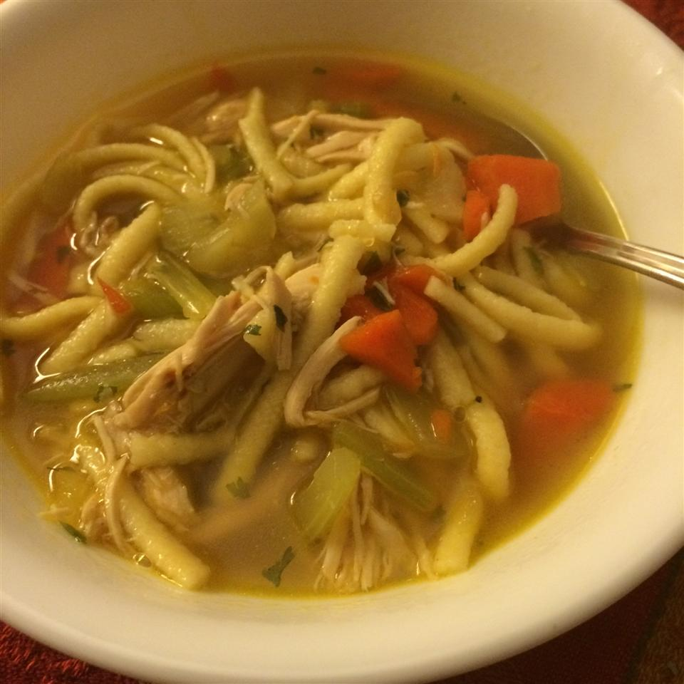 Spaetzle and Chicken Soup Alison Walker Milligan