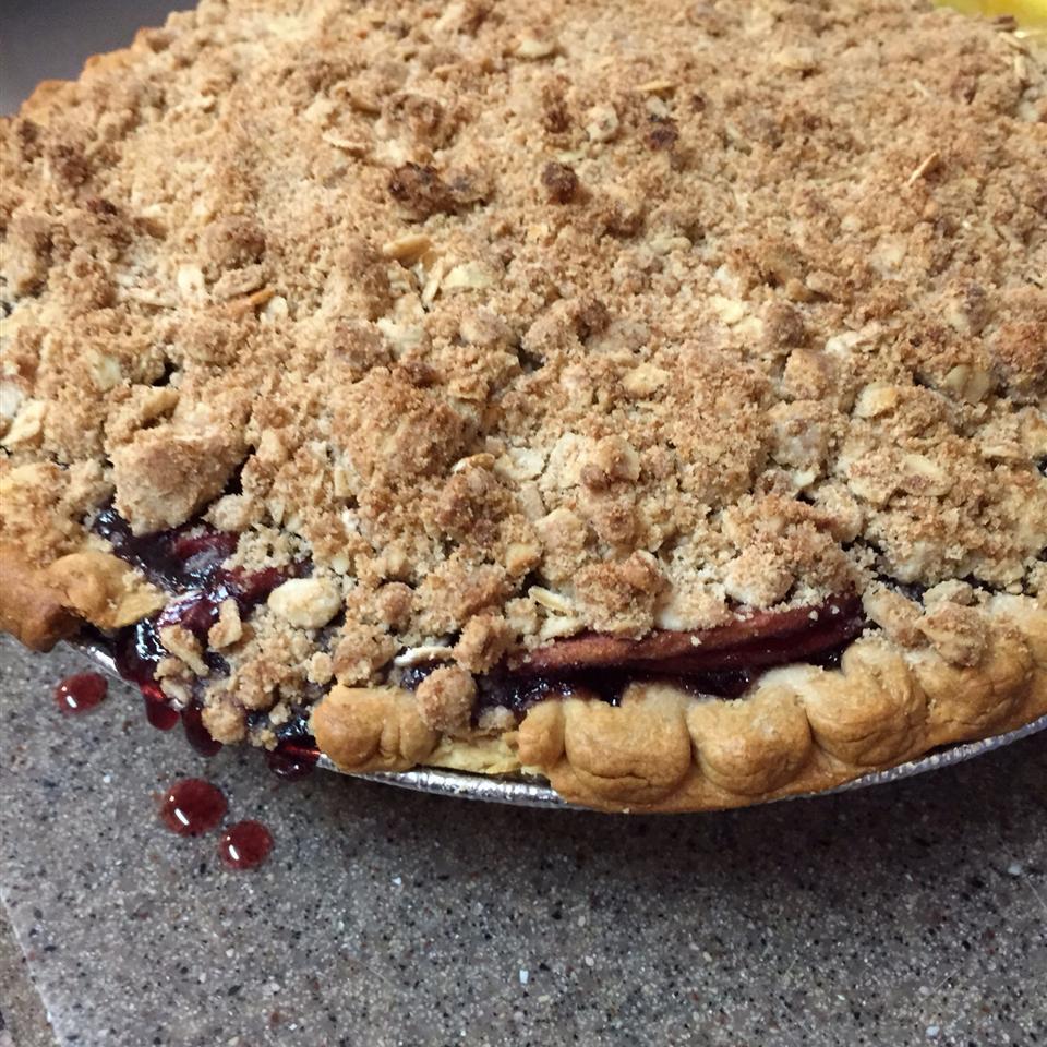 Creamy Apple Blueberry Pie Harley Quinn