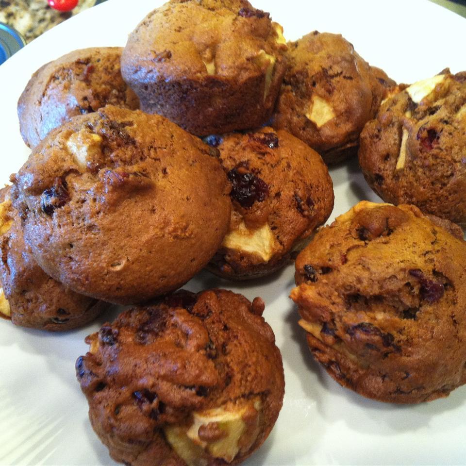 Cranberry Apple Breakfast Muffins Katie Mori