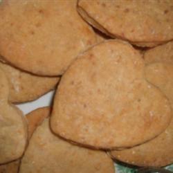 Homemade Dog Biscuits MrsHappyHomemaker