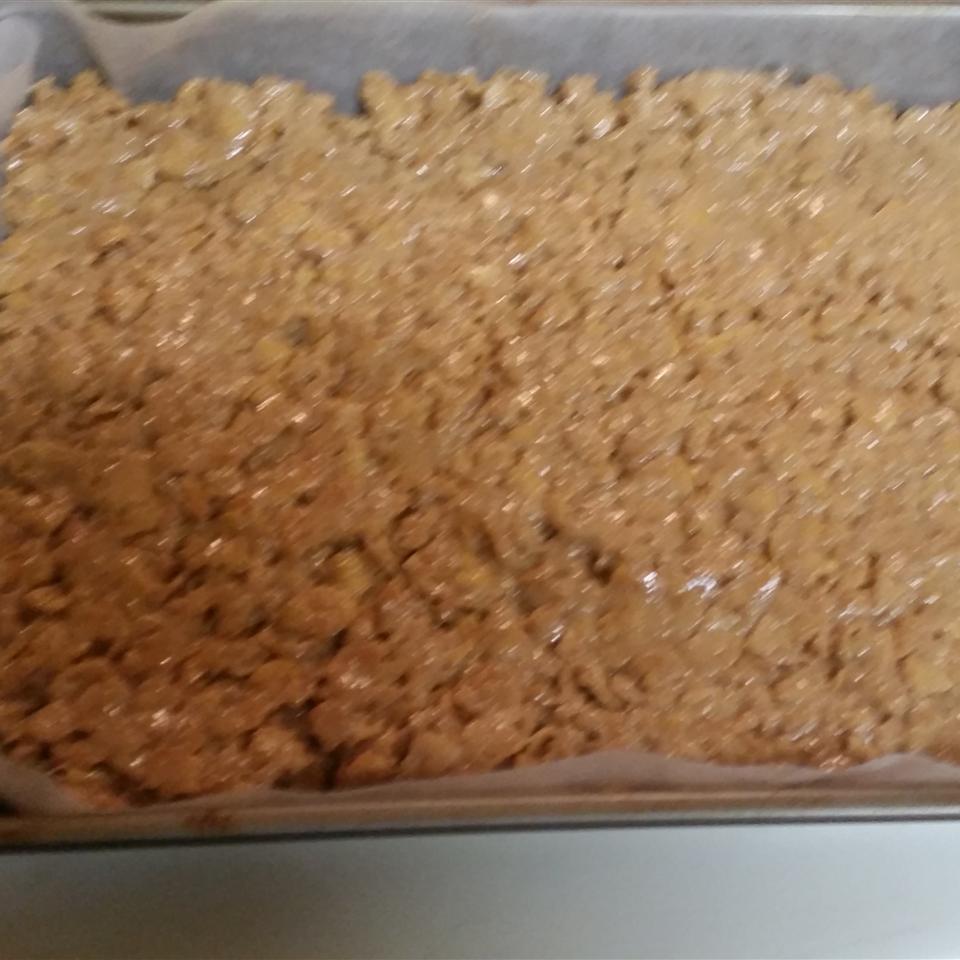 Peanut Butter Crispies I Julie Fuson