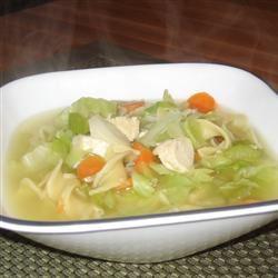 Thai Chicken Cabbage Soup