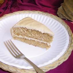 New Duchess Spice Cake with Maple Buttercream Frosting Alisan