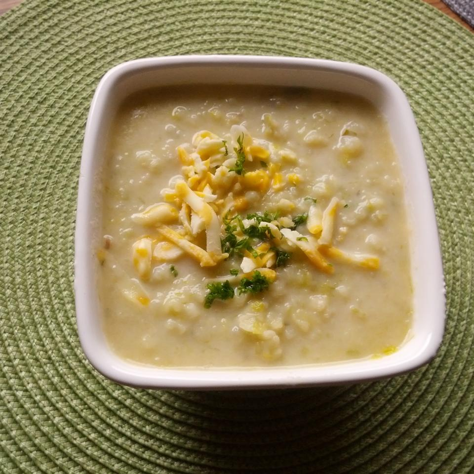 Winter Leek and Potato Soup