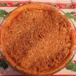 Warm Apple Buttermilk Custard Pie Ally Windham