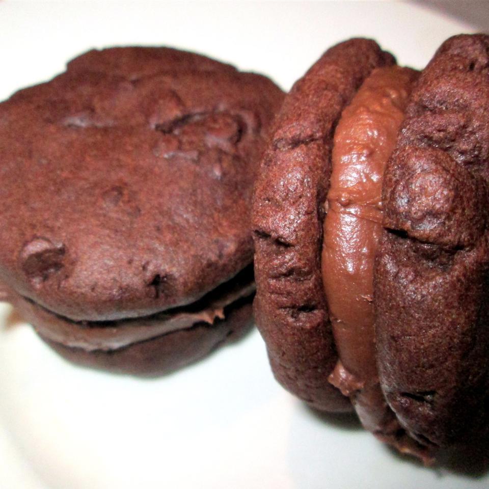 Double Chocolate Sandwich Cookies
