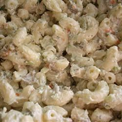 Simple Ranch Chicken Macaroni Salad Kelkachu