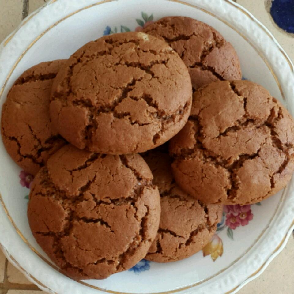 Big Soft Ginger Cookies Laura