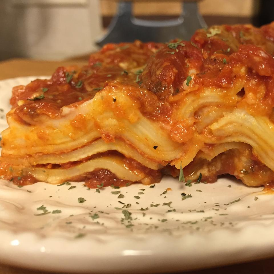 Oven-Ready Lasagna with Meat Sauce and Bechamel Carol Castellucci Miller