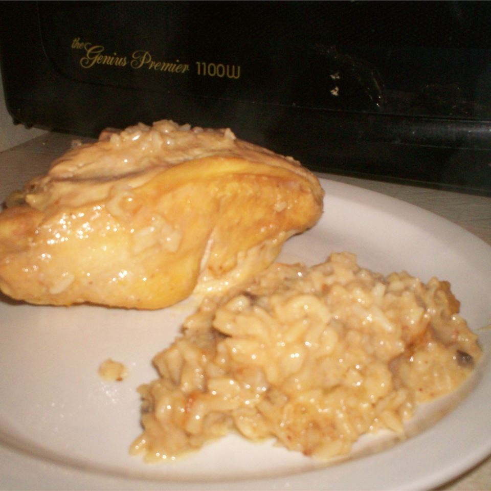 Baked Chicken on Rice