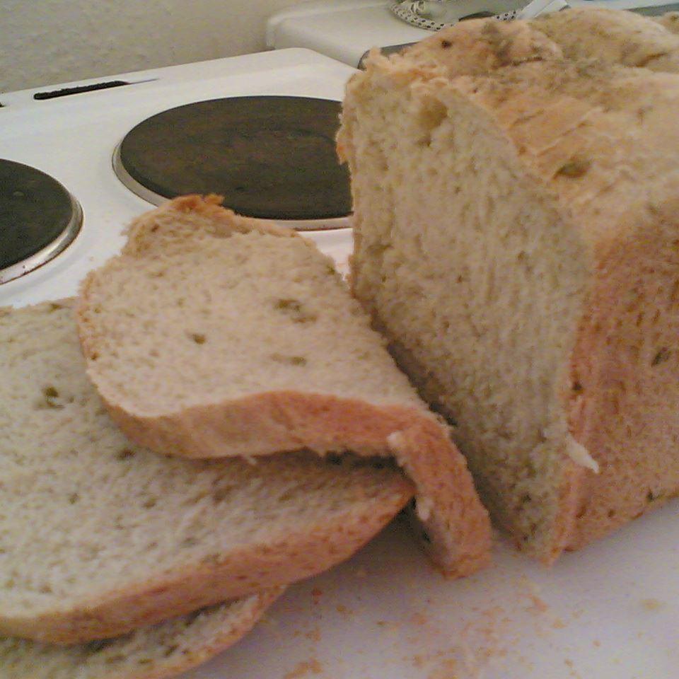 Mediterranean Black Olive Bread