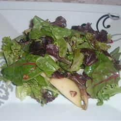 Pear and Blue Cheese Salad Fit&Healthy Mom