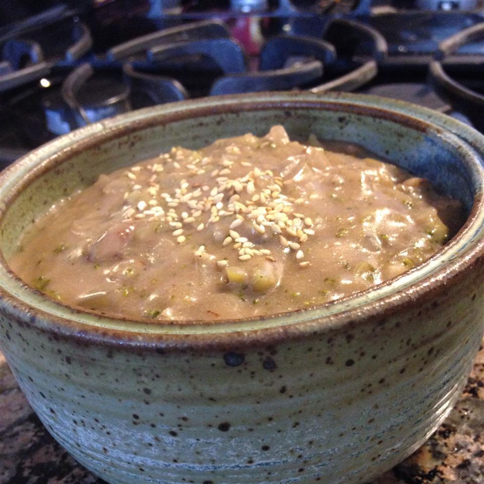 Broccoli-Walnut Soup