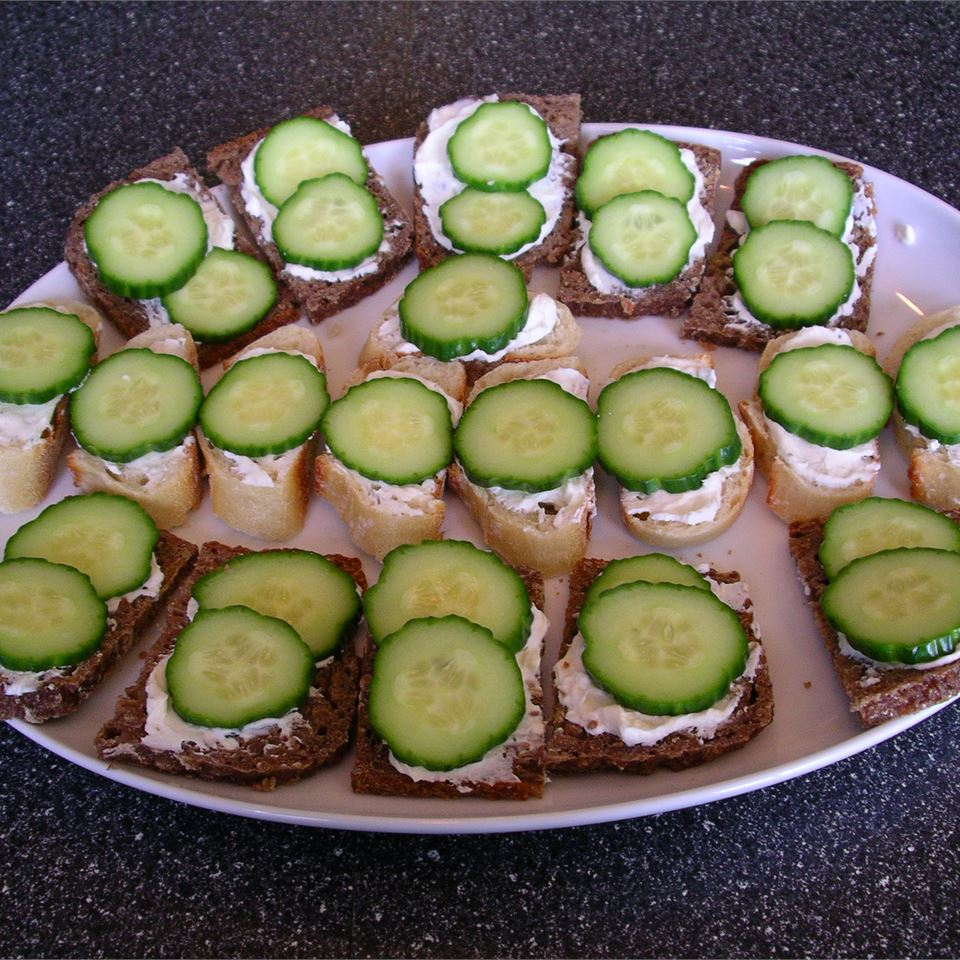 Cucumber Sandwiches I Always Cooking Up Something