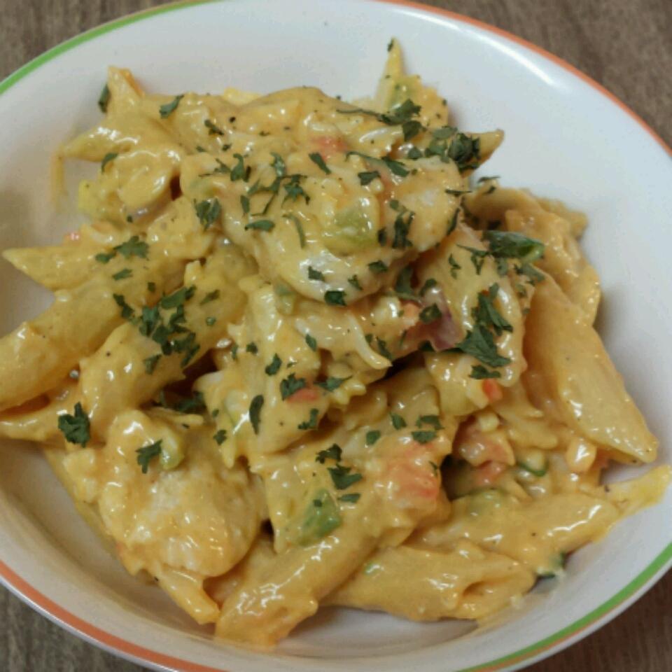 Buffalo Chicken Pasta Salad Franchan Desha Simpson