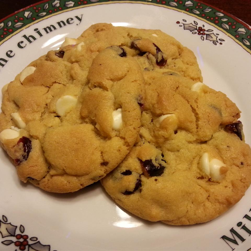 Cranberry Chocolate-Dipped Cookies