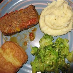 Jackie's Special Meatloaf Diane Boggs Colbert