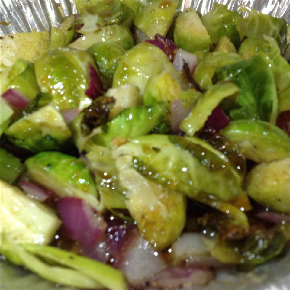 Balsamic-Glazed Brussels Sprouts