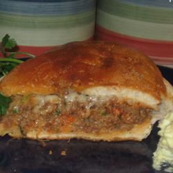 Sausage-Stuffed French Loaf Amie