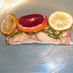 Citrus Salmon in Parchment Steve Z