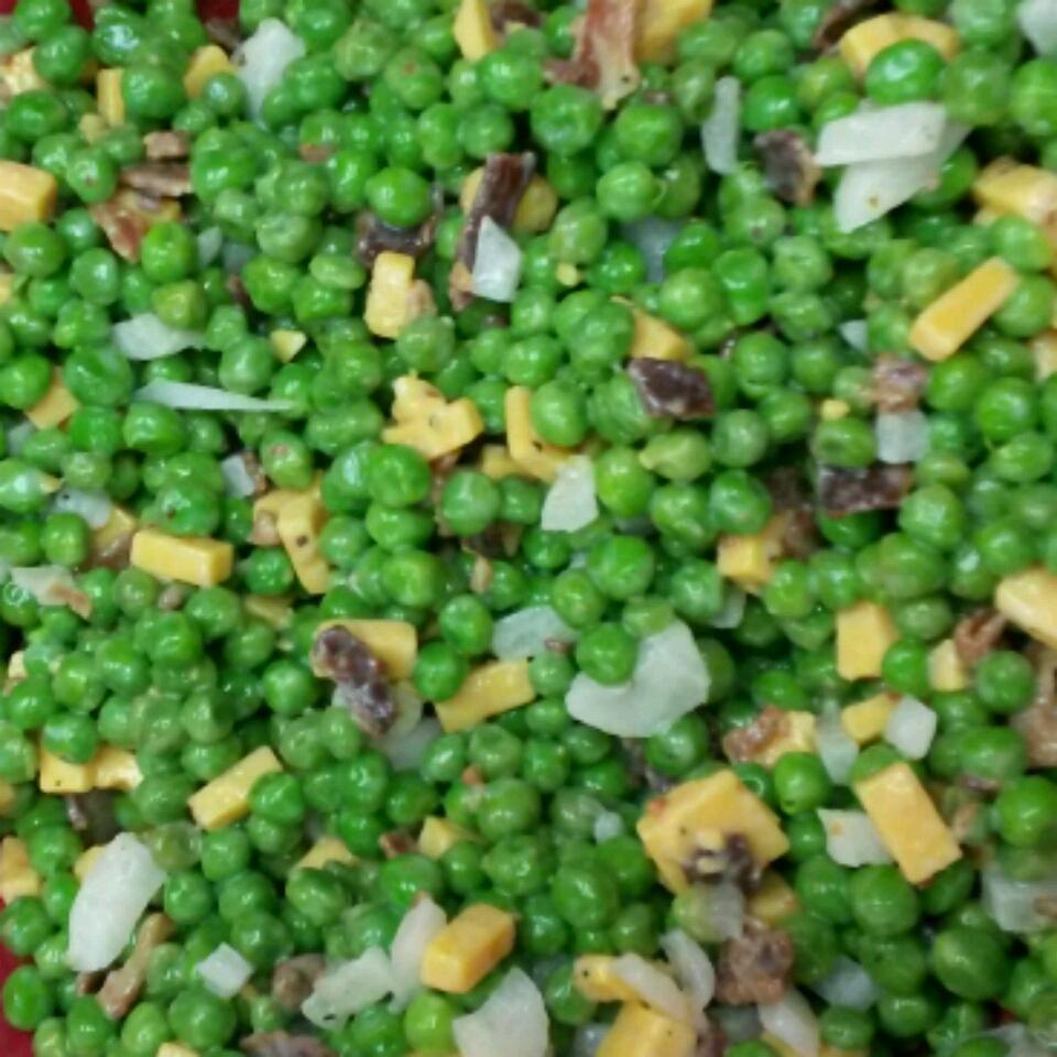 Easy Pea Salad