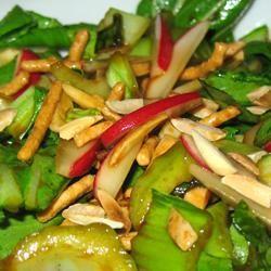 Yummy Bok Choy Salad PAMELA D. aPROpos of nothing