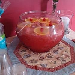 floating island punch recipe