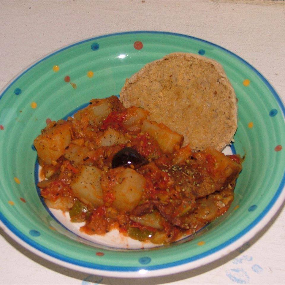 Greek Potato Stew