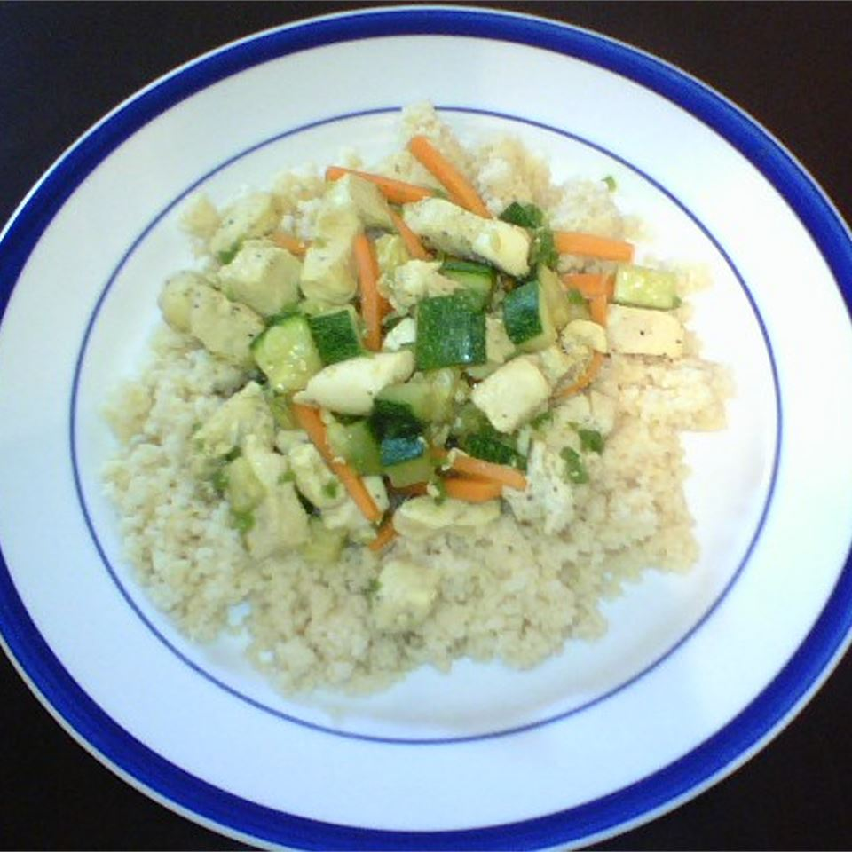 Chicken with Couscous Eileen in AR