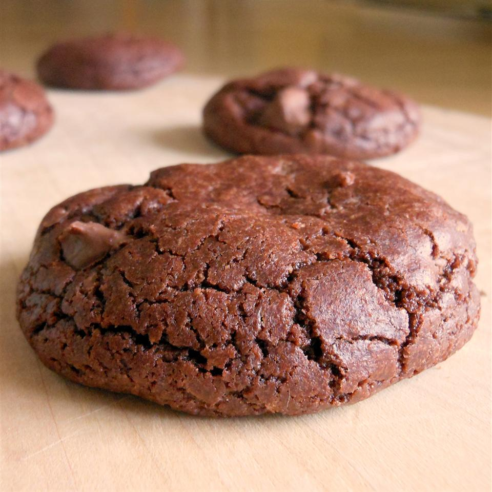 Double Fudge Brownie Cookies