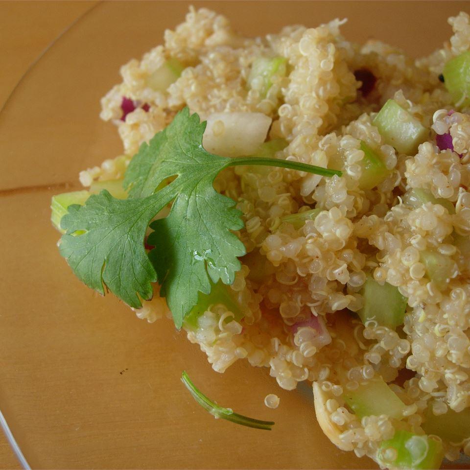 Lemony Quinoa larkspur