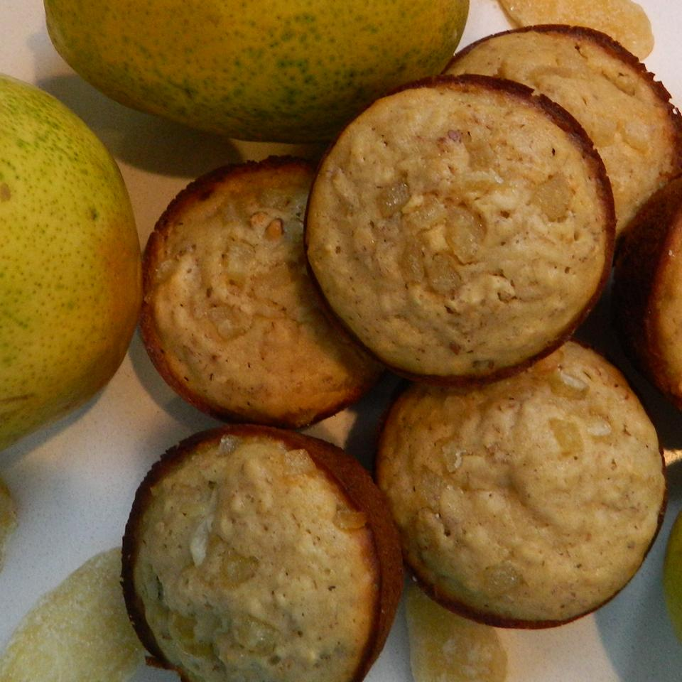 Ginger Pear Muffins mauigirl